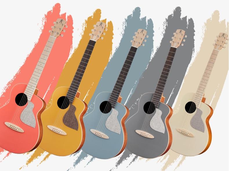 青岛正品桑托斯吉他_民谣吉他弹拨类乐器-河南欧乐乐器批发有限公司