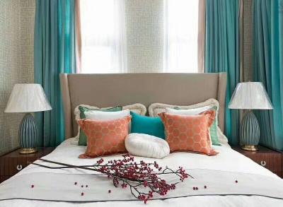 成都质量好的窗帘哪家便宜_卧室窗帘装修效果-高新区中和名流布艺店