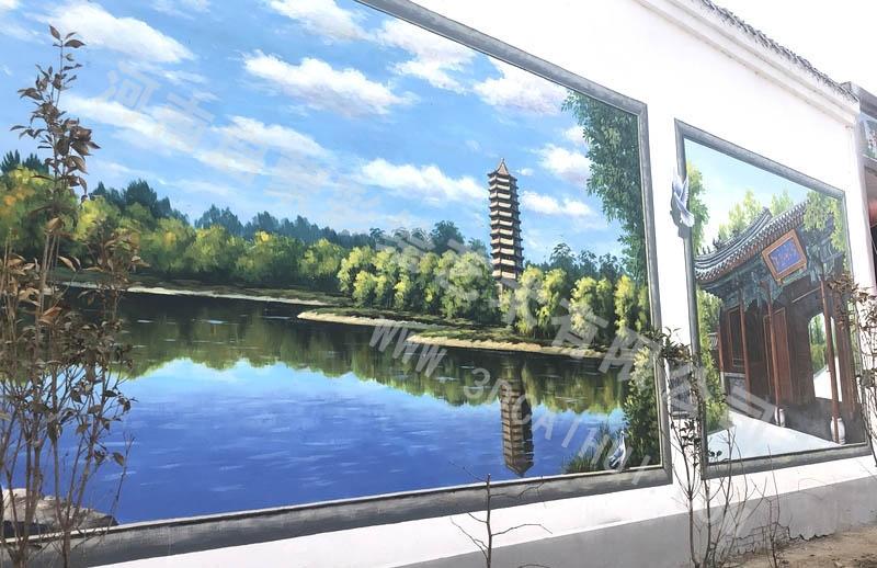 平顶山酒吧墙体画背景墙_其他创意设计-河南启蒙彩绘艺术有限公司