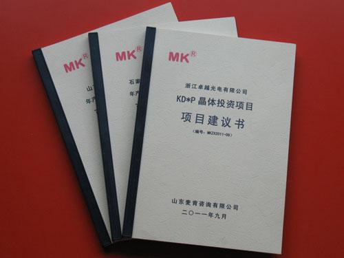 吕梁投资项目建议书_ 项目建议书格式相关-济南历下麦肯锦鸿管理咨询中心
