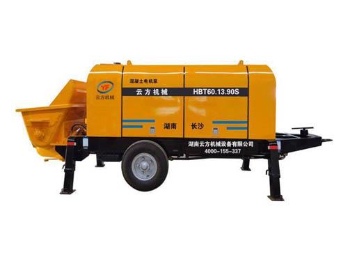 混凝土拖泵地泵价格_混凝土混凝土搅拌机械价格-湖南云方机械设备有限公司