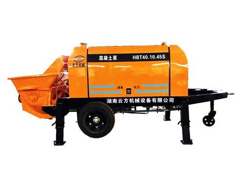 小型地泵_正规混凝土搅拌机械费用-湖南云方机械设备有限公司