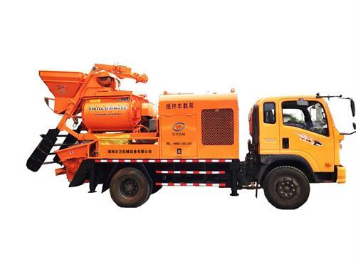 砼搅拌输送一体机_搅拌拖泵一体机相关-湖南云方机械设备有限公司
