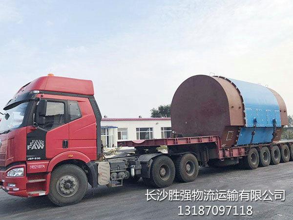 大件超宽运输_正规第三方物流-长沙胜强物流运输有限公司