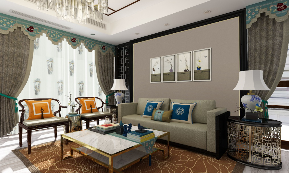 高新区软装推荐_酒店软装公司相关-高新区中和名流布艺店