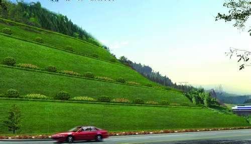 高速路边坡绿化公司_进口绿化工程报价-湖南创价生态园林有限公司