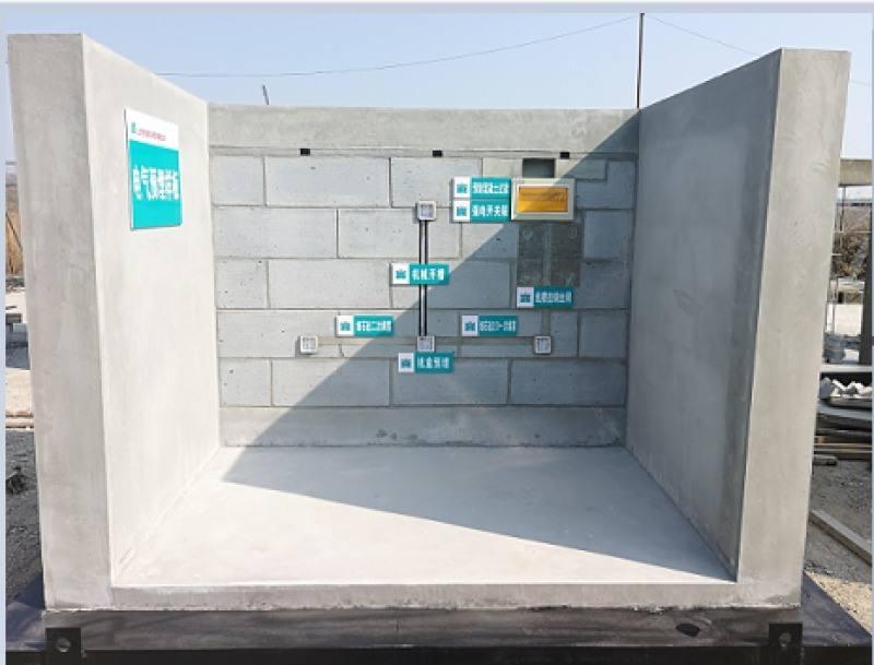 建筑工地施工样板_正宗其他地板工程-湖南汉坤建筑安保器材有限公司