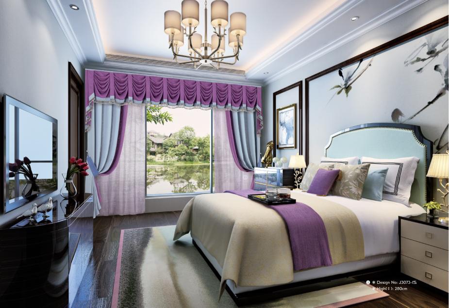 现代窗帘安装_简约窗帘-高新区中和名流布艺店