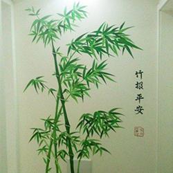 南宁本地餐厅墙绘_装潢设计-大宏图装饰工程有限公司