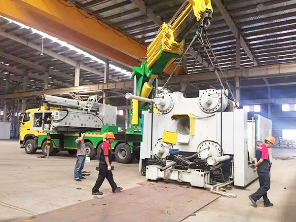 精密设备装卸_口碑好的建筑项目合作-长沙市同茂装卸搬运有限公司