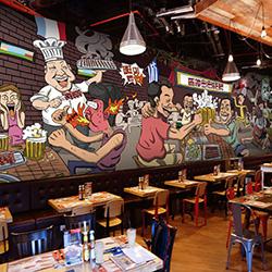 玉林正规酒吧彩绘图片_本地装潢设计方案-大宏图装饰工程有限公司