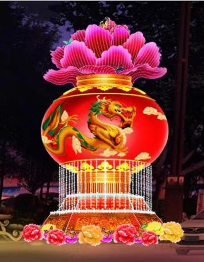 陕西元宵节花灯价格_花灯销售相关-陕西泰然文化发展有限公司