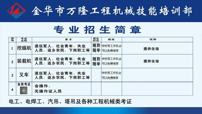 学挖机多少钱_管理培训课程相关-金华市万隆工程机械技能培训部