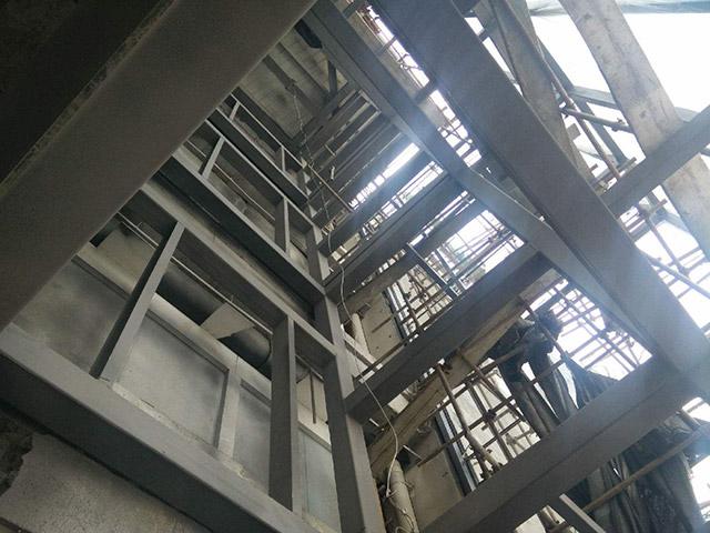大棚钢结构施工_钢结构车间施工相关-湖南天泰钢结构有限公司