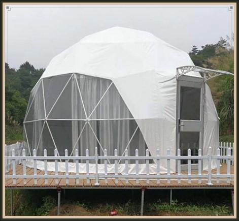 球形帐篷_天幕活动房生产厂家-上海绘冠户外用品有限公司