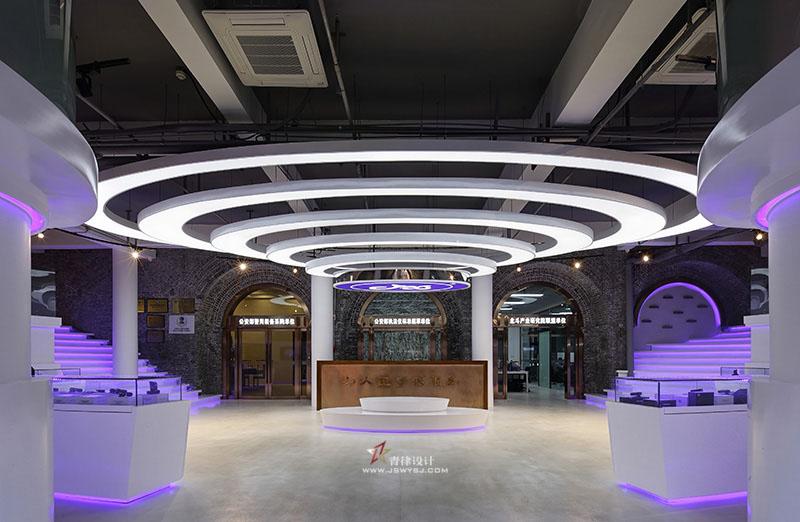 展厅装修案例_展厅装潢设计案例-南京青律装饰设计工程有限公司