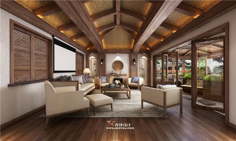新中式装饰设计_中式装潢设计-南京青律装饰设计工程有限公司