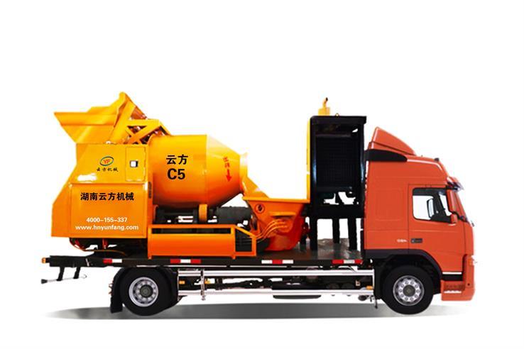 出售混凝土泵车_混凝土泵车三一相关-湖南云方机械设备有限公司