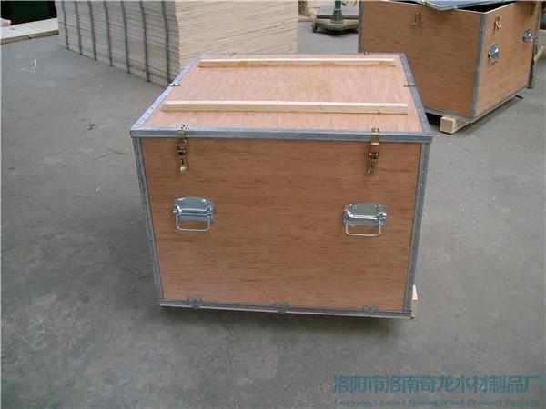 三门峡出口免熏蒸木箱厂家_免熏蒸木包装箱相关-洛阳市洛南奇龙木材制品厂