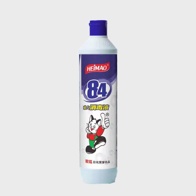 黑猫84消毒液_84消毒液