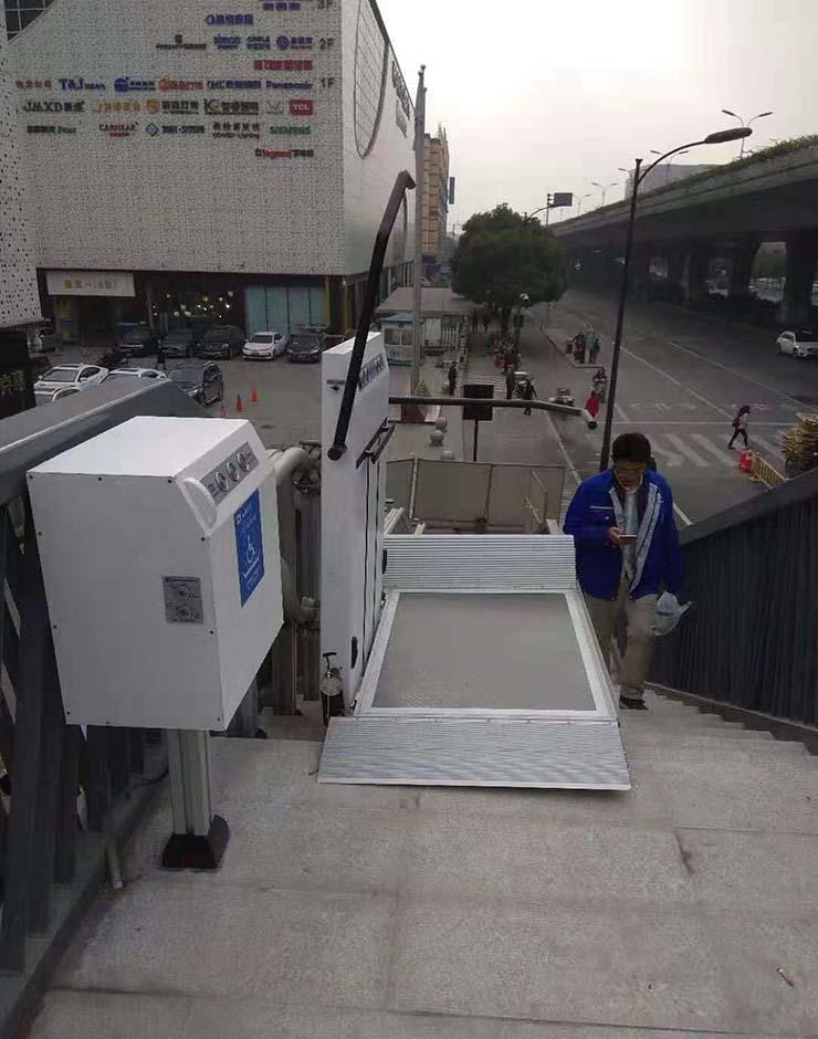 导轨式升降机平台价格_室内升降台-山东启运机械有限公司