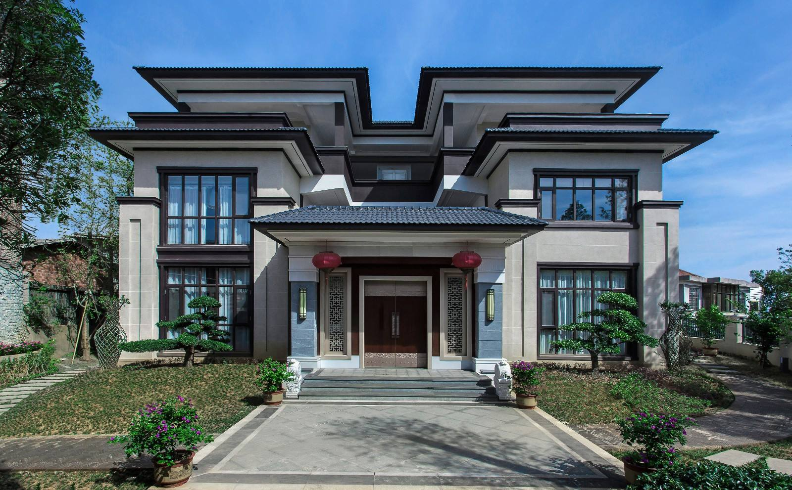 Pure Chinese villa design quote_where can i buy architectural drawings and model design-hunan xinju construction engineering Co., ltd.