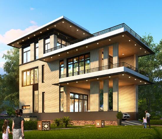 复式别墅成品图纸大全_独栋建筑图纸、模型设计下载-湖南博乔建筑科技有限公司