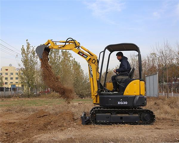 迷你型挖掘机型号大全_10挖掘机械价格-湖南小钢建机有限公司