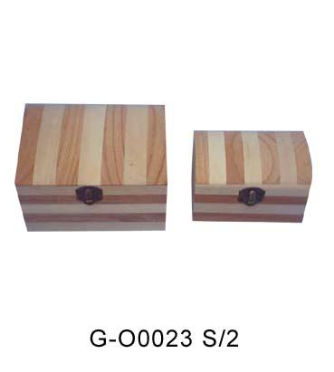 手绘木质茶叶盒_木箱相关-山东曹县木盒包装厂