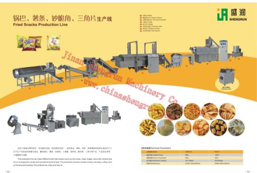 全自动油炸食品生产设备大概多少钱_炊事设备相关-济南盛润机械有限公司