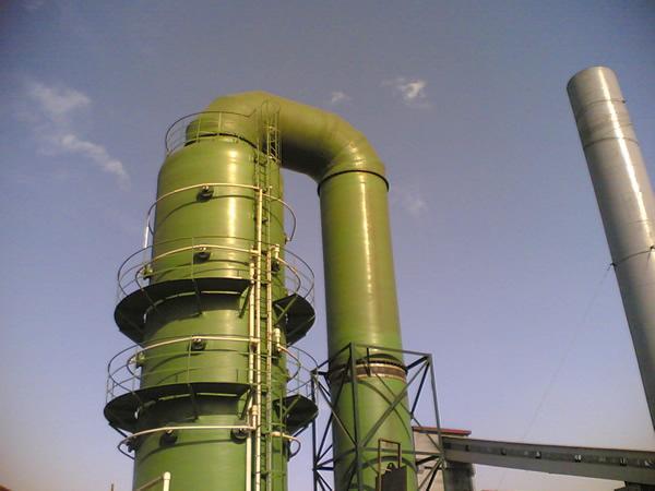 脱硫塔价格_砖厂脱硫除尘设备-河北贺翔环保设备有限公司
