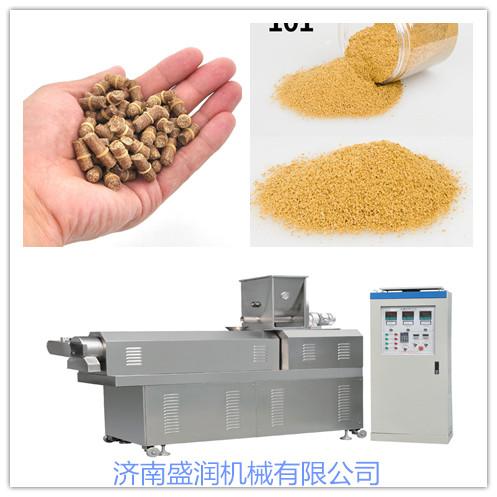 大型鱼饵生产线价格_济南膨化食品加工设备价格-济南盛润机械有限公司