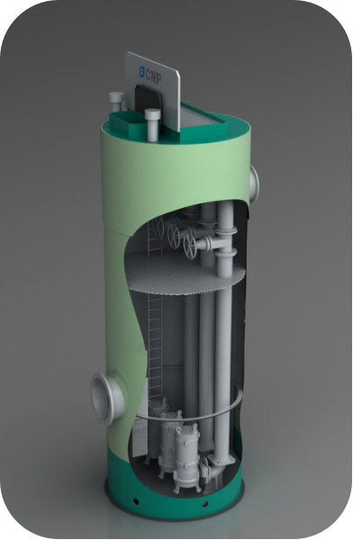 污水一体化预制泵站_智能环保项目合作设备-南方泵业智水(杭州)科技有限公司