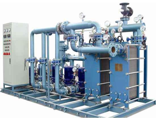 青岛板式换热机组_智能换热、制冷空调设备-山东博泰容器有限公司