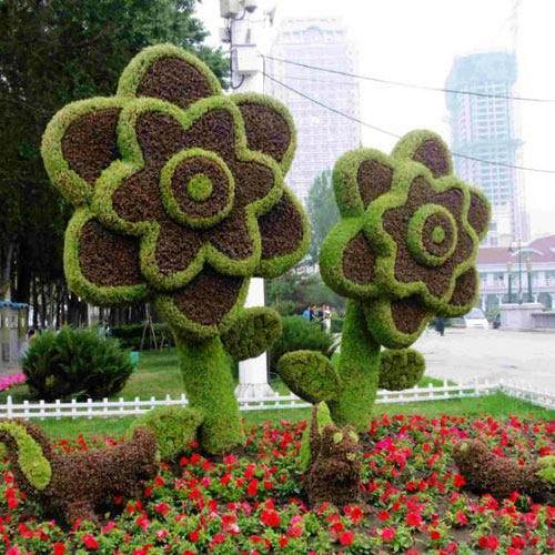 河南植物仿真绿雕如何安装_草坪价格-洛阳大熠华文化传播有限公司
