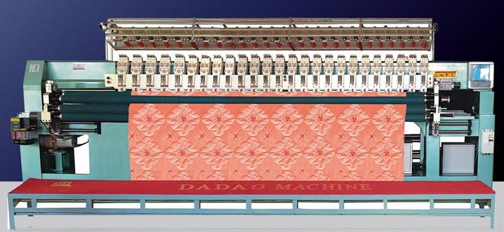四川口碑好的无梭绗缝机_无梭绗缝机供应相关-成都红绣机电设备有限公司
