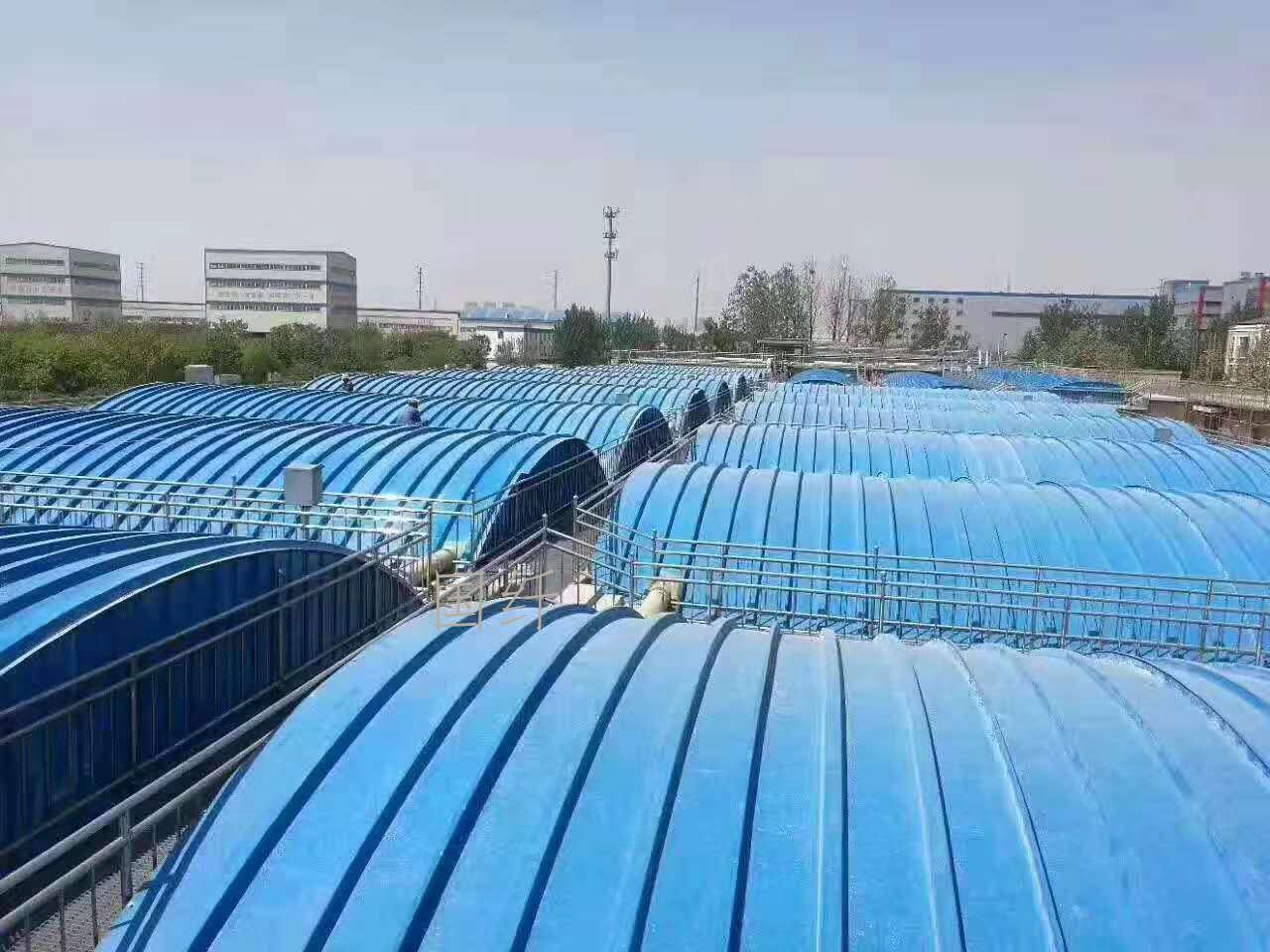 查常州污水池集氣罩生產商_其它污水處理設備相關-河北國纖復合材料有限公司