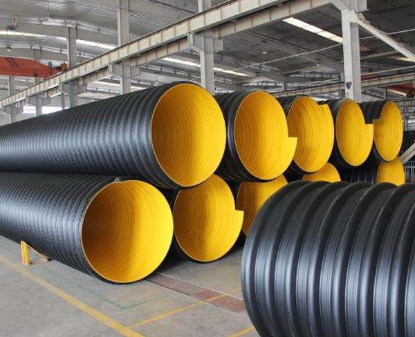 正宗hdpe聚乙烯钢带增强波纹管价格_提供采购-安徽荣冠管业科技有限公司