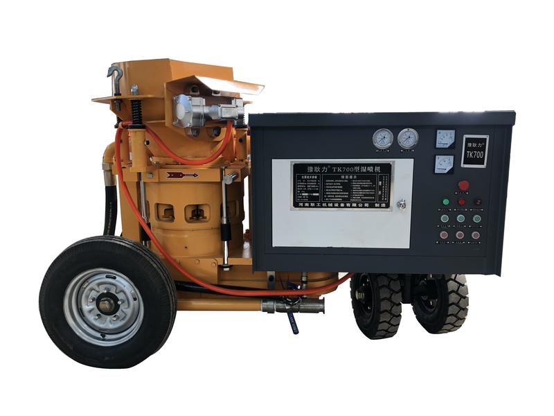 岩峰湿喷机型号_混凝土行业专用设备加工-河南耿工机械设备有限公司