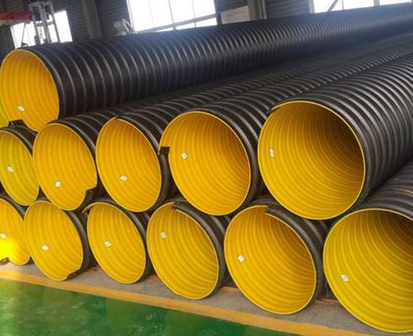正规hdpe螺旋增强钢带波纹管供应商_提供采购-安徽荣冠管业科技有限公司