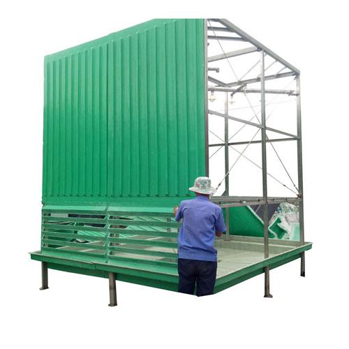 宁夏钢结构框架方形逆流式冷却塔定做_甘肃冷却塔-新乡市嘉汇玻璃钢环保设备有限公司