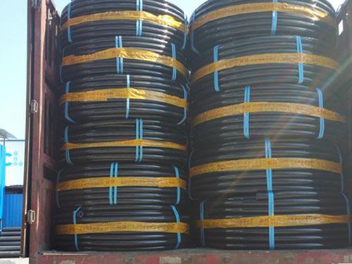 PE钢丝网网骨架复合管复合管_室外复合管-湖南诚路管业科技有限公司