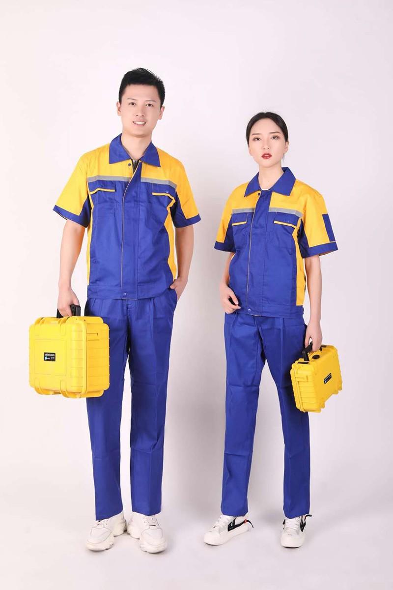 夏季短袖工作服价格_牛仔短袖工作服相关-河南省诚胜源服装有限公司