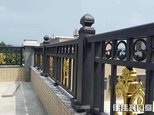 铝合金扶手护栏_铝合金门窗相关-长沙佳佳兴门窗有限公司