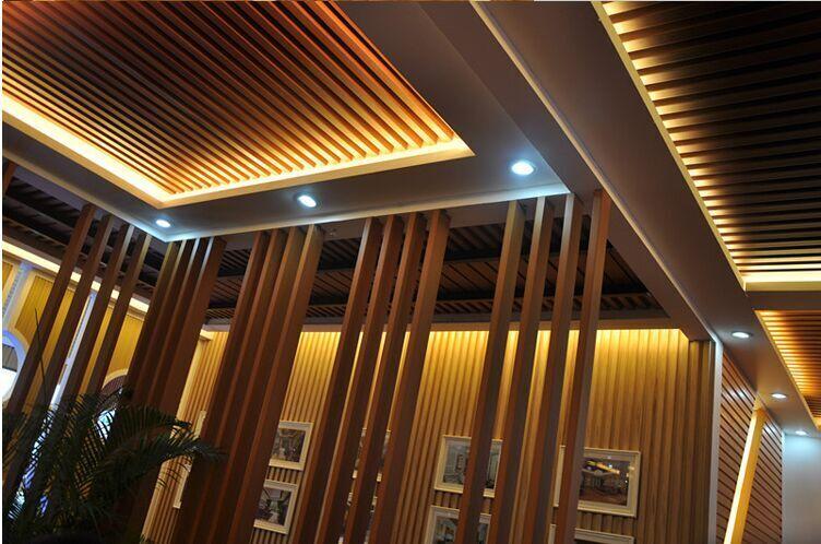 大长城吊顶生态木装修效果_吊顶生态木生产厂家相关-成都市成华区顺隆装饰材料经营部