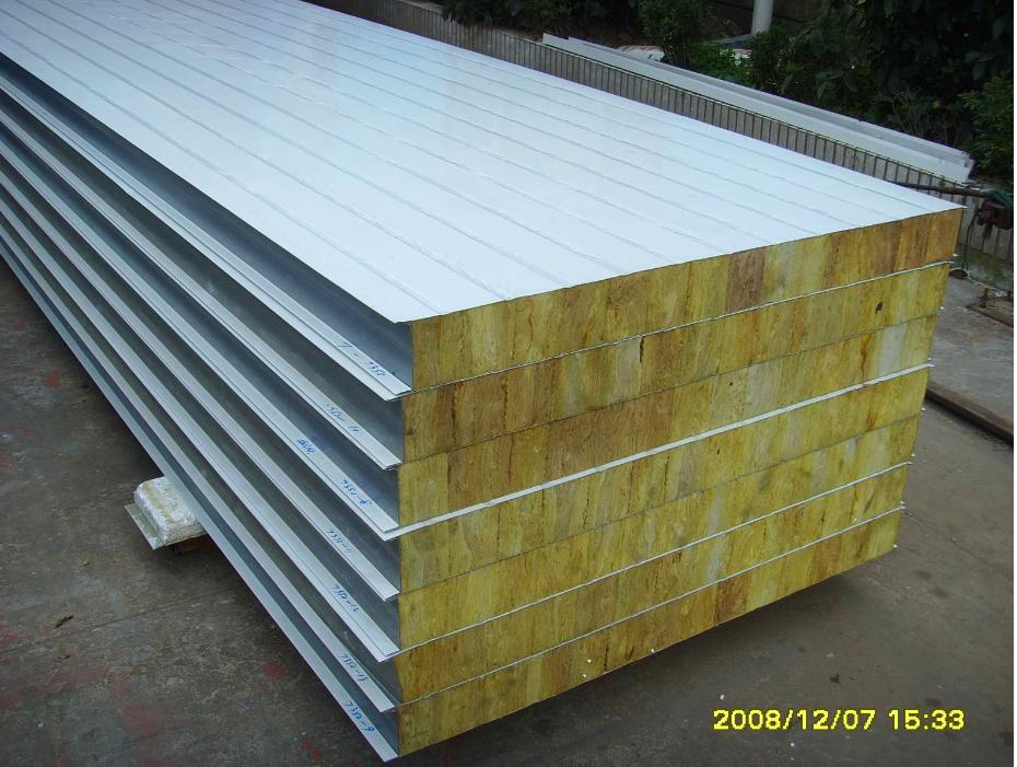 专业彩钢夹芯板生产厂_岩棉彩钢板相关-株洲友信彩板结构有限公司