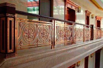 雕花铜板设计_浮雕金属建材价格-佛山市润展金属建材有限公司