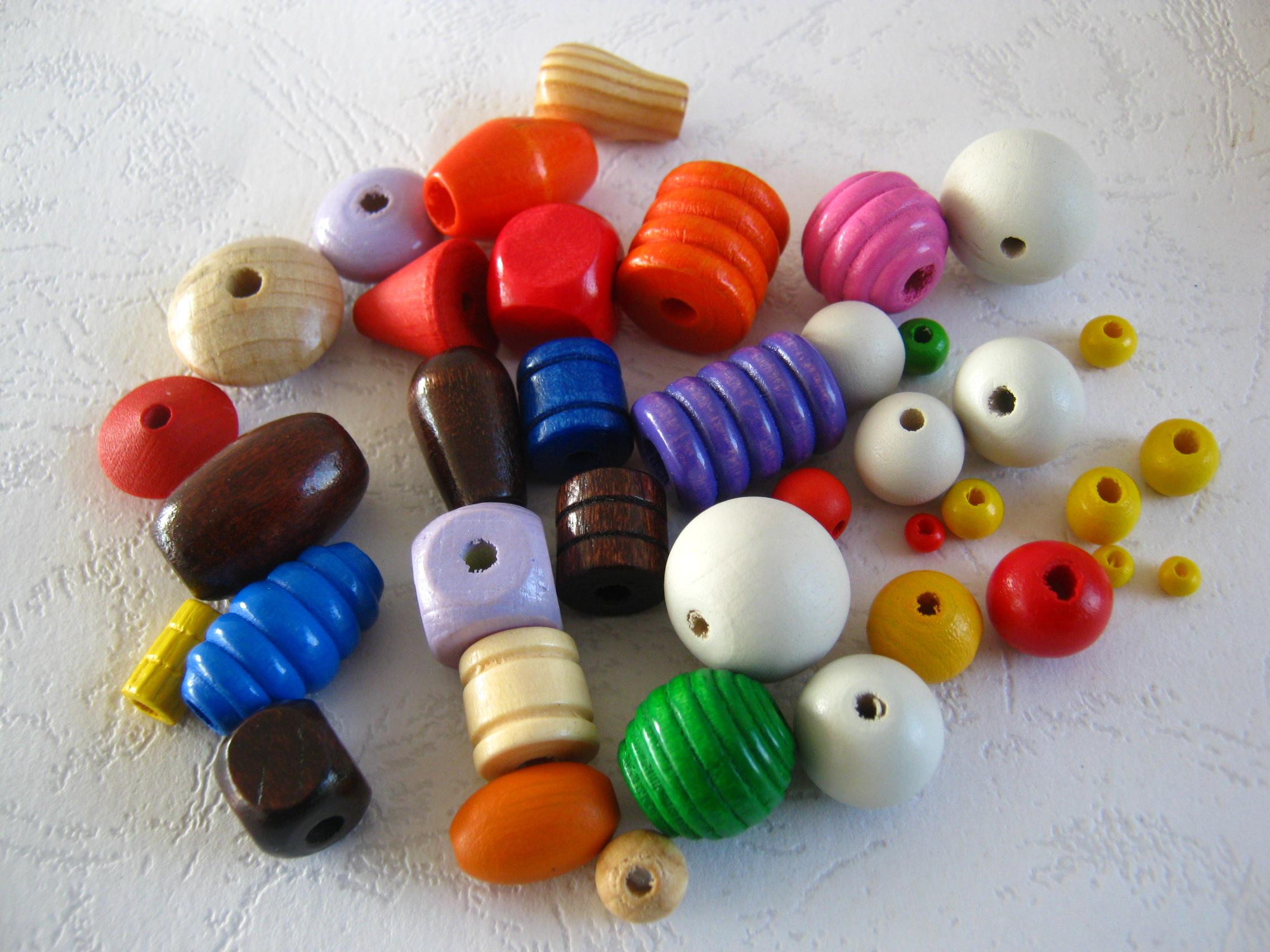 智能彩色木珠定做_彩色木珠价格相关-天台县和昌隆工艺制品厂