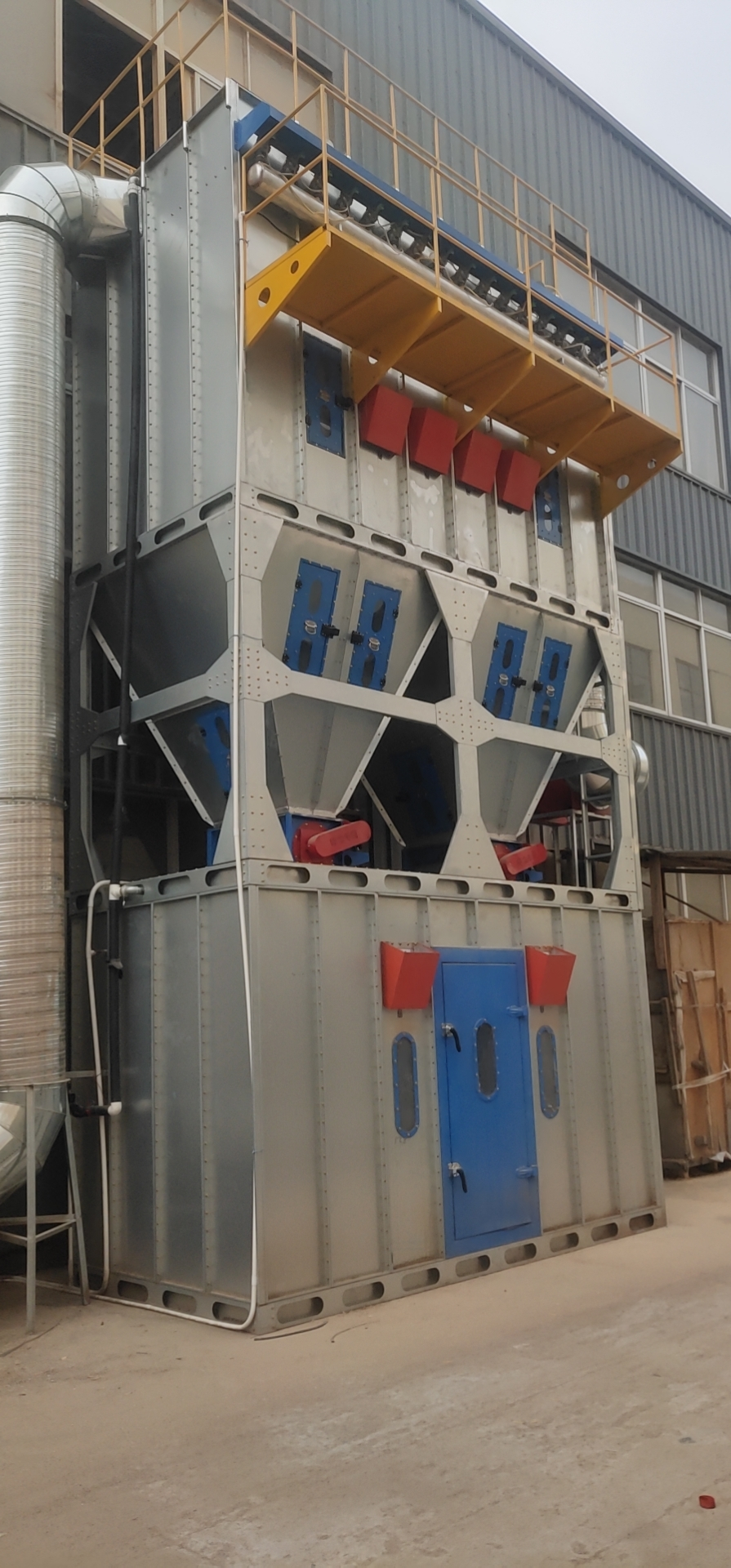 福建廢氣除塵設備生產廠家_除塵器除塵設備相關-山東歐銘環保設備有限公司