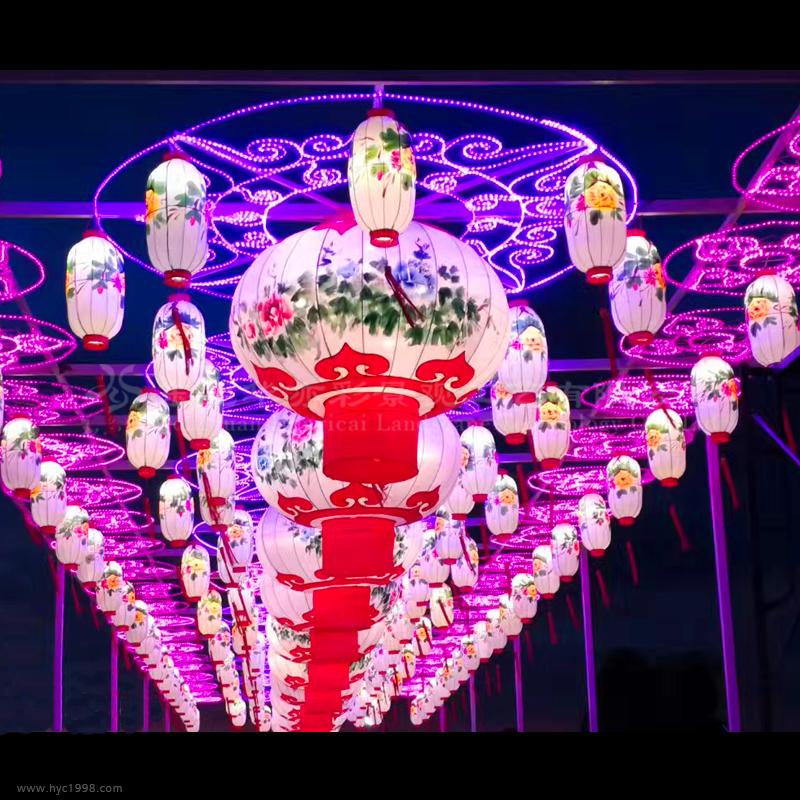 蘭州特色餐廳燈飾供應廠家_吊燈燈具燈飾相關-東莞華亦彩景觀工藝有限公司